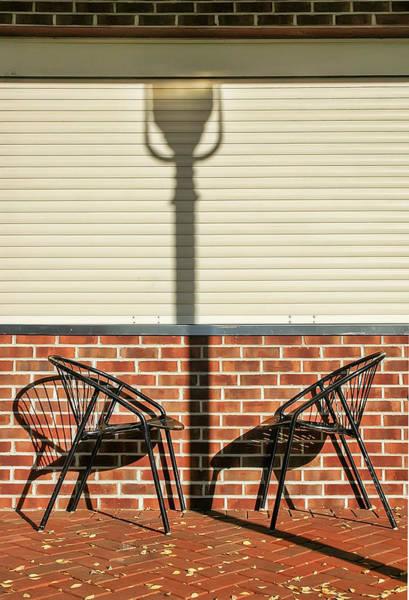 Photograph - A Place Where Shadows Meet by Gary Slawsky