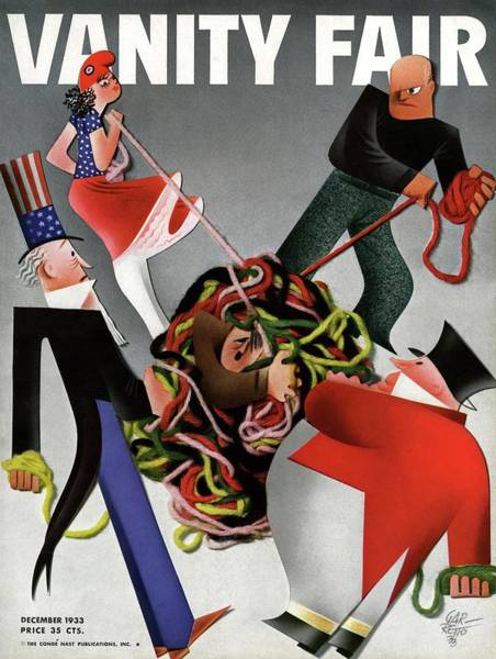 Tangle Photograph - A Political Vanity Fair Cover by Paolo Garretto