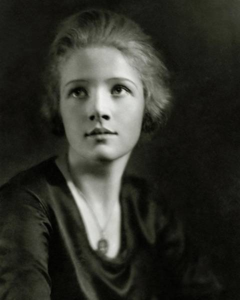 1923 Photograph - A Portrait Of Ann Harding by Nickolas Muray