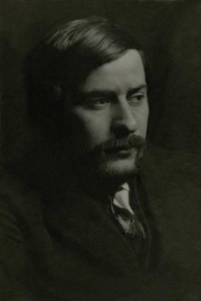 1922 Photograph - A Portrait Of Boris Anisfeld by Arnold Genthe
