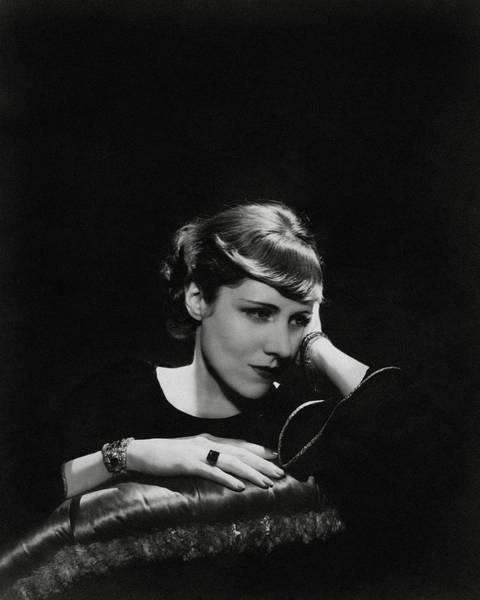 Wall Art - Photograph - A Portrait Of Clare Boothe Luce by Cecil Beaton