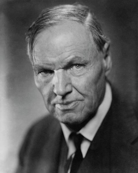 Head And Shoulders Photograph - A Portrait Of Clarence Darrow by Nickolas Muray