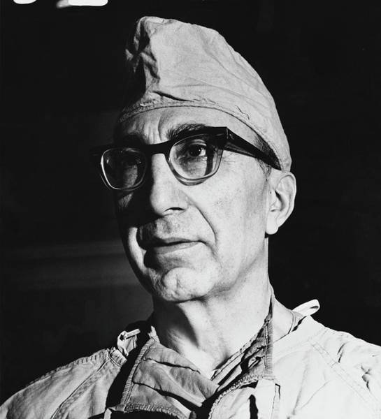 Male Portrait Photograph - A Portrait Of Dr. Michael Debakey by Horst P. Horst