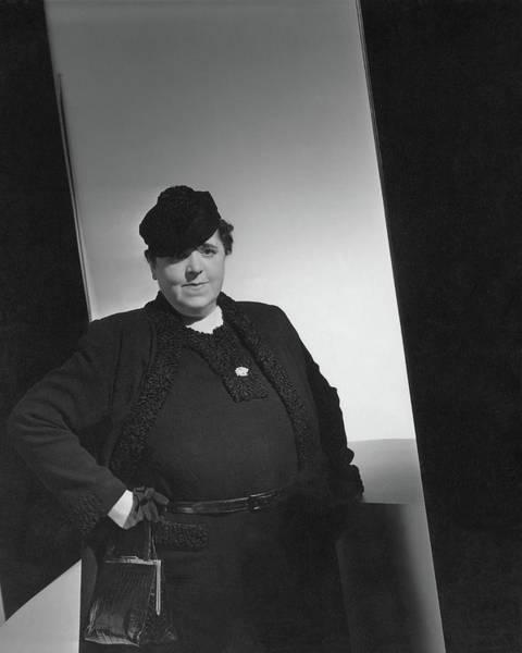 Wall Art - Photograph - A Portrait Of Elsa Maxwell by Horst P. Horst