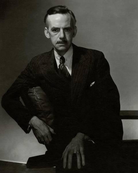 A Portrait Of Eugene O'neill Art Print by Edward Steichen