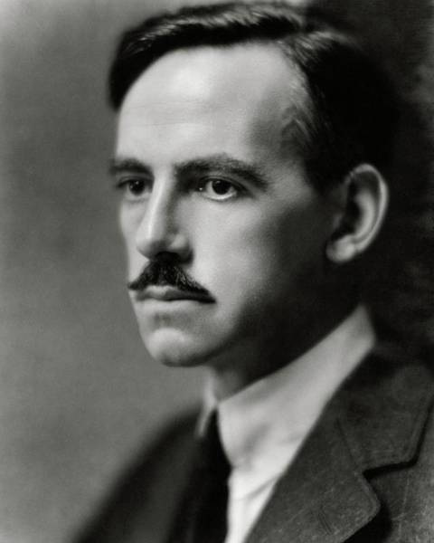 Male Portrait Photograph - A Portrait Of Eugene O'neill by Nickolas Muray