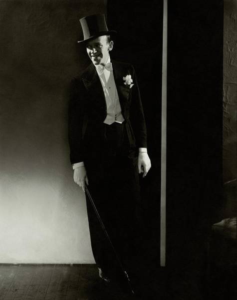 Formal Wear Photograph - A Portrait Of Fred Astaire by Edward Steichen