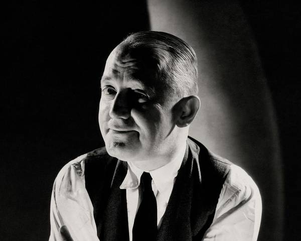 Male Portrait Photograph - A Portrait Of George M. Cohan by Edward Steichen