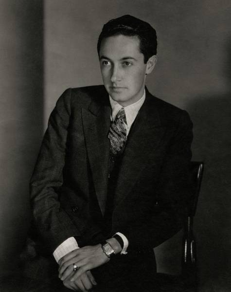 Male Portrait Photograph - A Portrait Of Irving Grant Thalberg by Edward Steichen