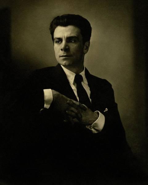 1923 Photograph - A Portrait Of Jacob Ben Ami by Edward Steichen