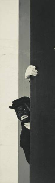 Photograph - A Portrait Of Johnny Hudgins In Blackface by George Hoyningen-Huene