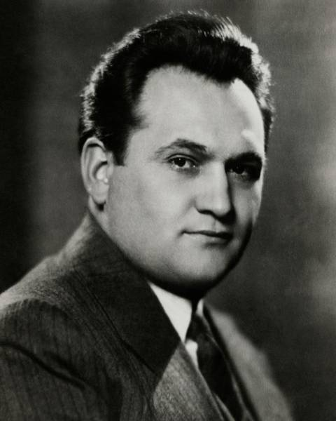 Singer Photograph - A Portrait Of Mario Chamlee by Nickolas Muray