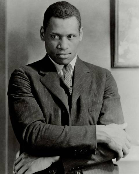 Photograph - A Portrait Of Paul Robeson by Ralph Steiner