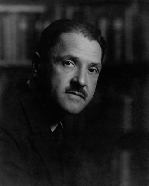 Male Portrait Photograph - A Portrait Of Somerset Maugham by Arnold Genthe