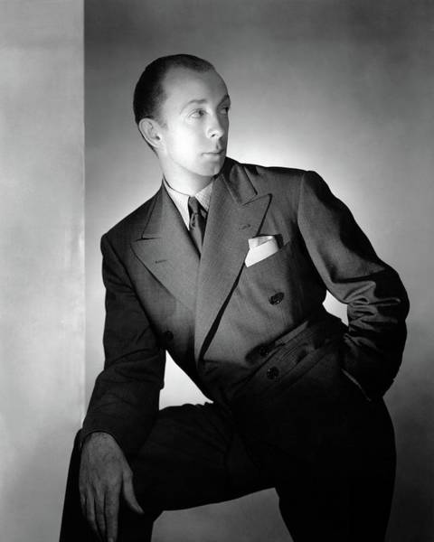 January 1st Photograph - A Portrait Of T.h. Robsjohn-gibbings by George Platt Lynes