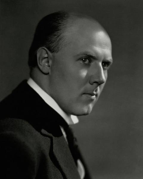 Head And Shoulders Photograph - A Portrait Of Walter Gieseking by Nickolas Muray