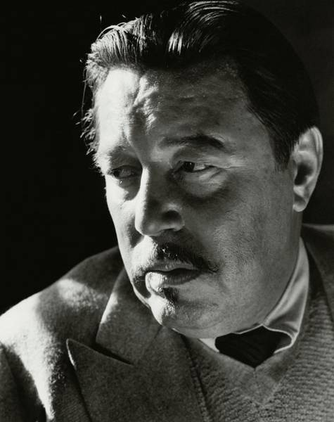 A Portrait Of Warner Oland Art Print by Imogen Cunningham