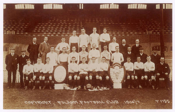 Wall Art - Photograph - A Postcard Of Fulham Football  Club's by Mary Evans Picture Library