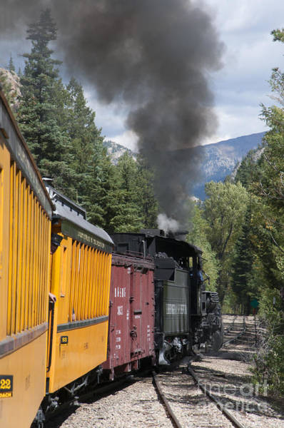 Photograph - Steam Train To Silverton Colorado by Brenda Kean