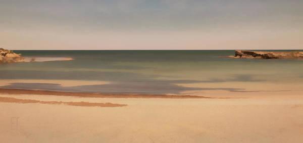 Greenhead Photograph - A Quiet Beach by Elaine Teague