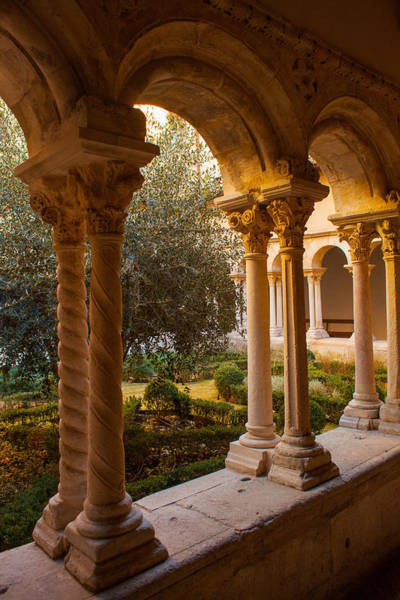 Cloister Photograph - A Quiet Cloister by W Chris Fooshee