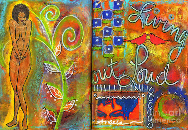 Wall Art - Mixed Media - A Rebirth Of Sorts by Angela L Walker