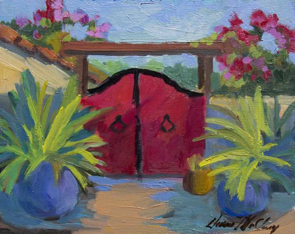 A Red Gate Art Print
