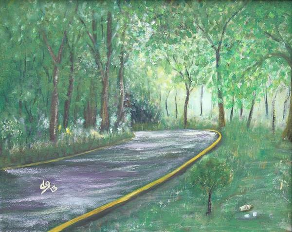 Painting - A Road Least Traveled by DG Ewing