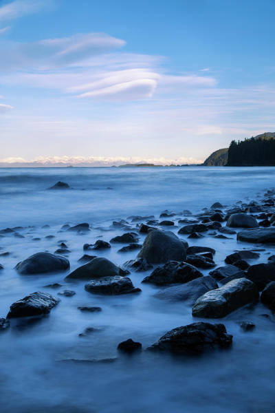 Juneau Photograph - A Rocky Shoreline Exposed During Low by John Hyde / Design Pics