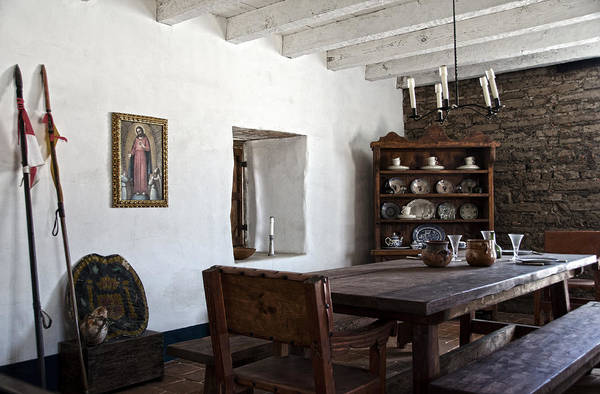 Mission Santa Barbara Photograph - A Room In The Presidio Of Santa Barbara by RicardMN Photography