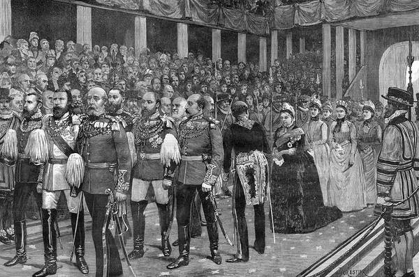 The Specials Drawing - A Royal Procession At Westminster by  Illustrated London News Ltd/Mar