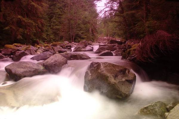 Wall Art - Photograph - A Rushing River by Jeff Swan