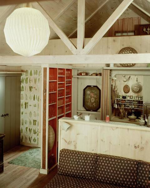 January 1st Photograph - A Rustic Kitchen by Haanel Cassidy