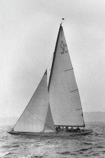 Copy Photograph - A Sailboat by Toni Frissell