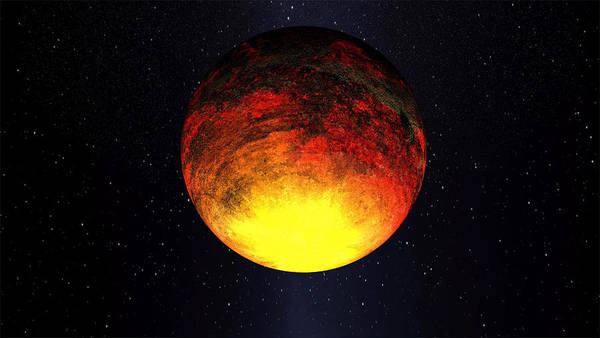 Photograph - A Scorched World Kepler-10b  by Movie Poster Prints