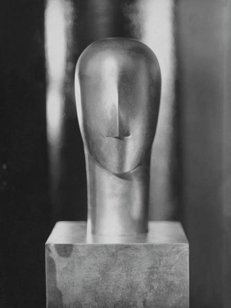 July 15th Photograph - A Sculpture By Siegel by George Hoyningen-Huene