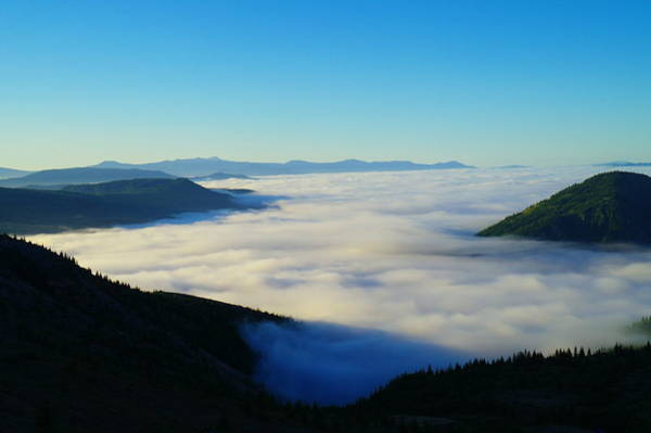 Swan Valley Photograph - A Sea Of Fog  by Jeff Swan