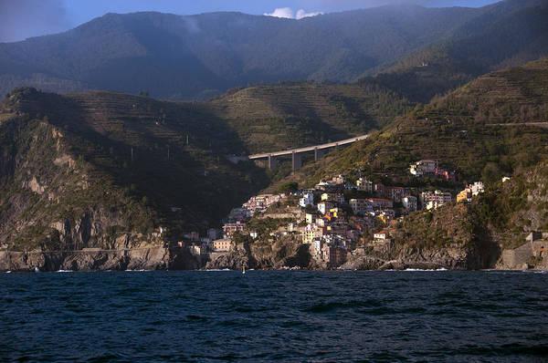 Photograph - A Sea View Of Riomaggiore by Matt Swinden
