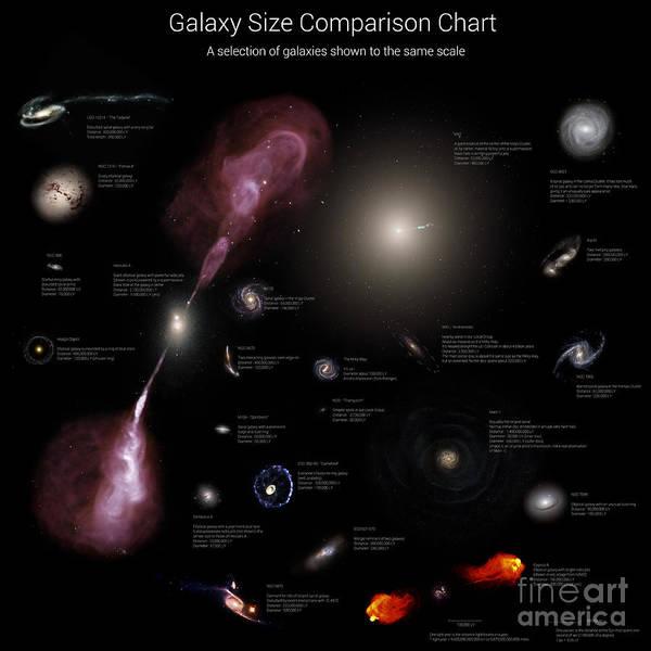 Interacting Galaxies Wall Art - Photograph - A Selection Of Galaxies Shown by Rhys Taylor