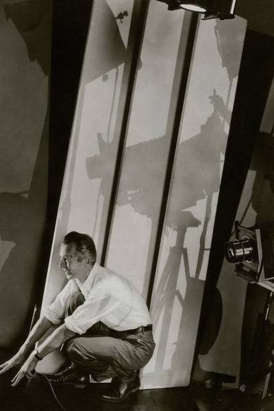 Male Photograph - A Self-portrait Of Edward Steichen by Edward Steichen