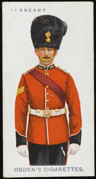 Wall Art - Drawing - A Sergeant From The Royal  Dublin by Mary Evans Picture Library