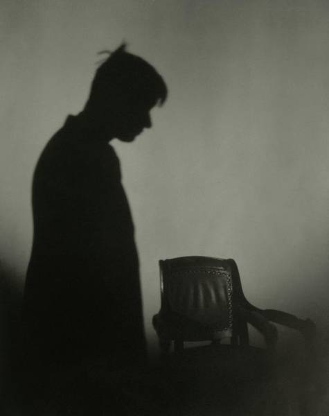 1923 Photograph - A Shadow Of Will Rogers by Edward Steichen