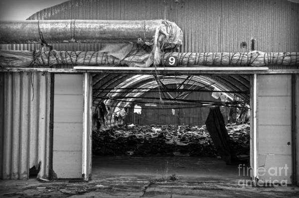 Photograph - A Shed In An Abandoned Mushroom Farm Bw by RicardMN Photography