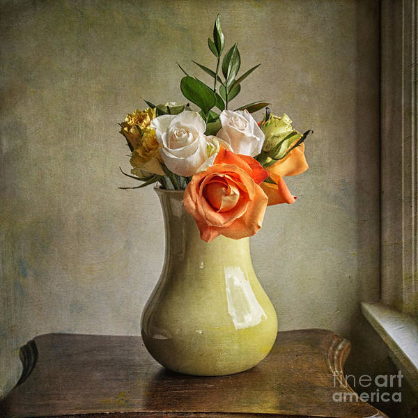 Photograph - A Simple Bouquet by Terry Rowe