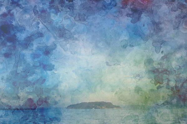 A Small Island Art Print