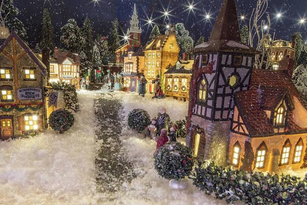Weihnachten Photograph - A Snowy Evening by Caitlyn  Grasso