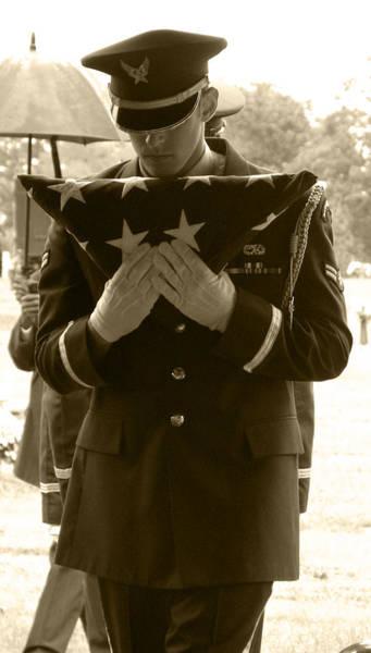 Photograph - A Soldiers Sorrow II by Nada Meeks