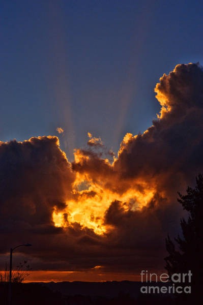 Norco Photograph - A Southern California Sunset - 2 by Tommy Anderson