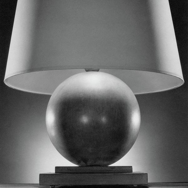 Shaded Photograph - A Spherical Lamp By Joseph Mullen by Peter Nyholm