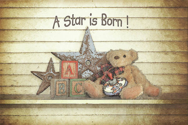 Family Farm Painting - A Star Is Born by Jo Moulton